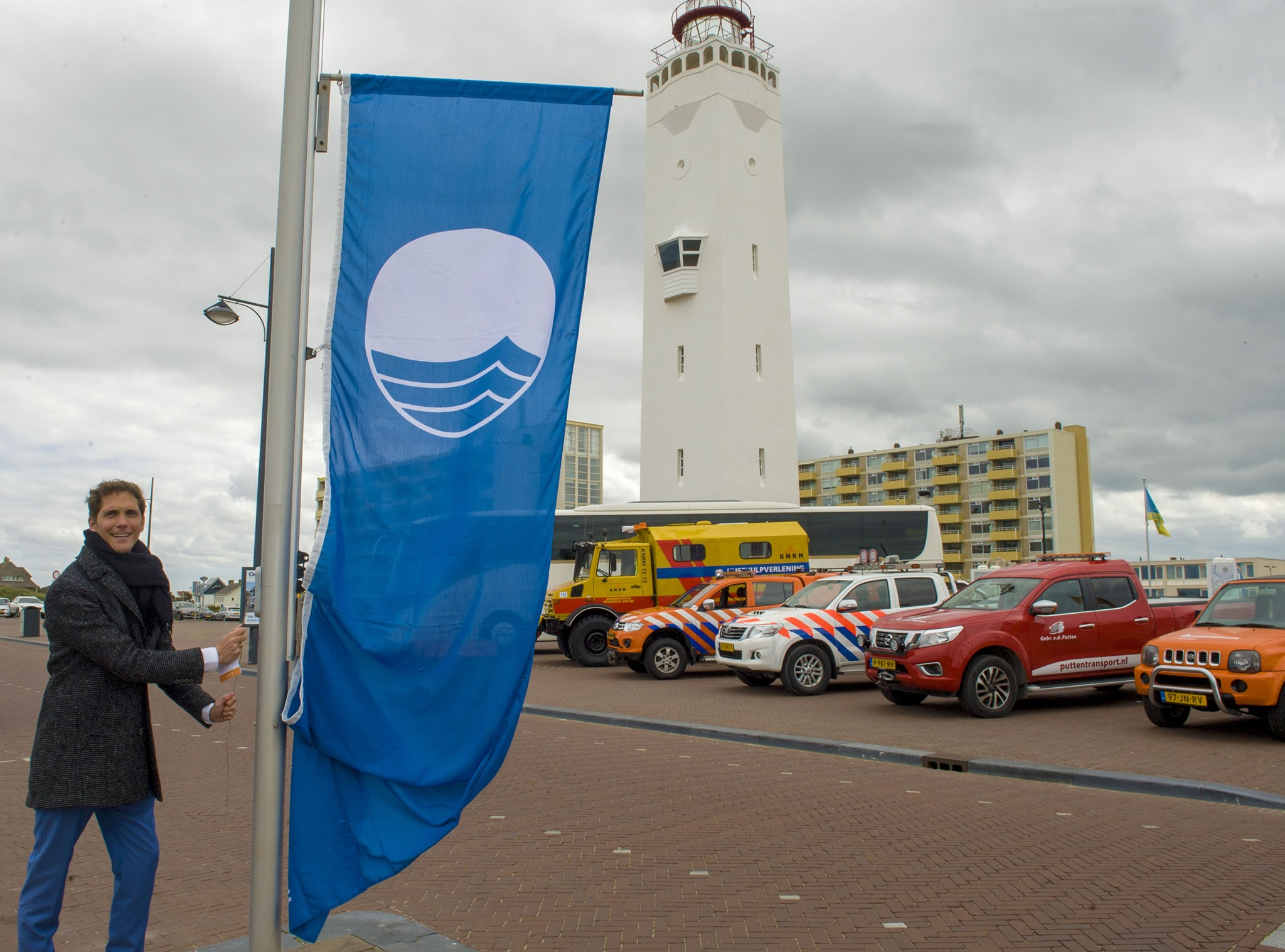 Blauwe Vlag: wethouder Roberto ter Hark