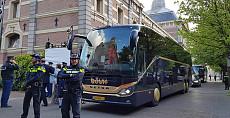 Vorstelijk vervoer op 50e verjaardag Koning Willem Alexander