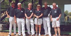 Goede doelen golfteam Koninklijke Beuk