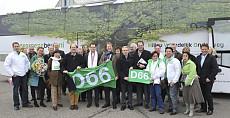 Lijsttrekker D66 bezoekt Koninklijke Beuk