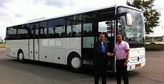 Nieuwe bus voor shuttle project Schiphol