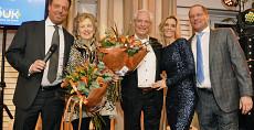 Koninklijke Beuk, 110 jaar, Eric, Gerda, Dolf, Monique en Marc Beuk