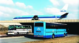 Beuk anno 1996-2005, vervoer op Schiphol
