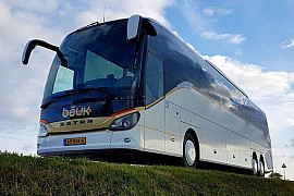 Royal Beuk, Royal Class bus travel