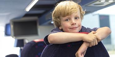 Schoolreisjes met de bus van Beuk, schoolbus huren