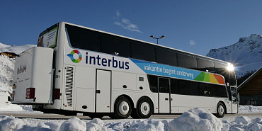 Shuttle trips, Royal Touringcars, Interbus, Holiday starts en route