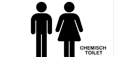 Chemisch toilet legen