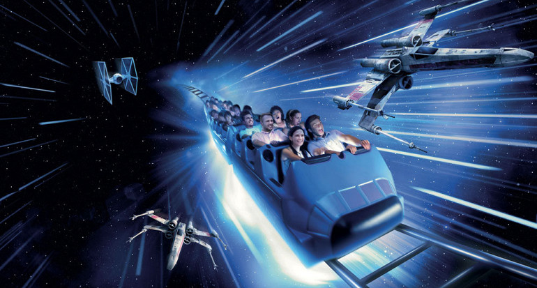 Koninklijke Beuk, Schoolreisje, Disneyland - Space Mountain