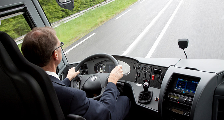 Koninklijke Beuk, VIP vervoer - VIP la Diligence, cockpit chauffeur