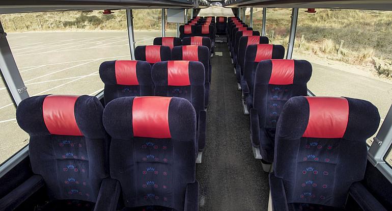 Koninklijke Beuk, Business Class vervoer, Business Class touringcar interieur