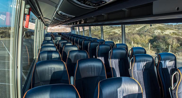 Koninklijke Beuk, Comfort Class vervoer - Stijlvolle standaard, interieur