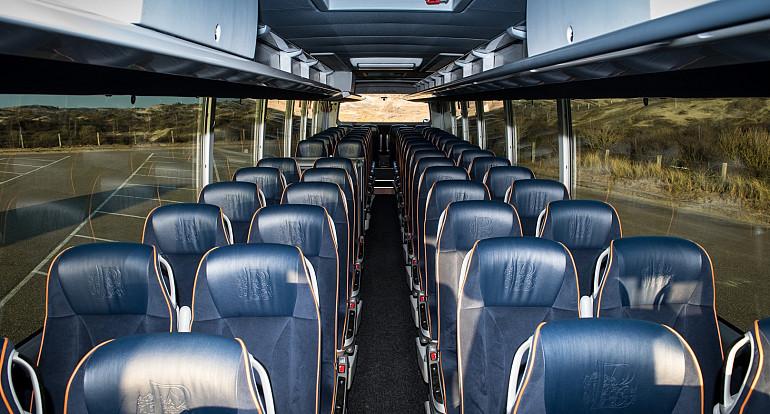 Royal Beuk, Royal Class bus trips, Royal Class armchairs