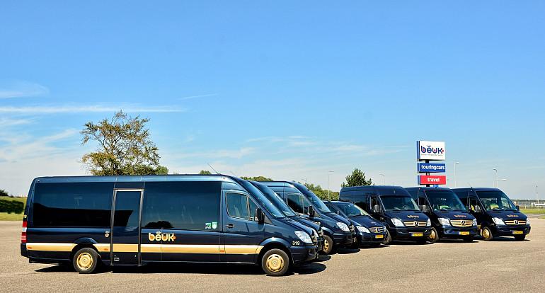 Congresvervoer, Koninklijke Beuk, bus huren, minibusjes