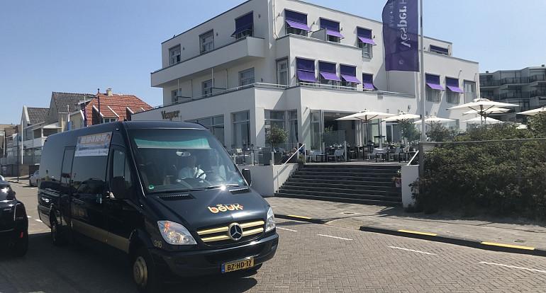 Hop on Hop off Noordwijk, Beuk, Vesper Hotel