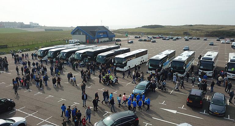 Koninklijke Beuk, Supportersvervoer, supportersbus, Quick Boys