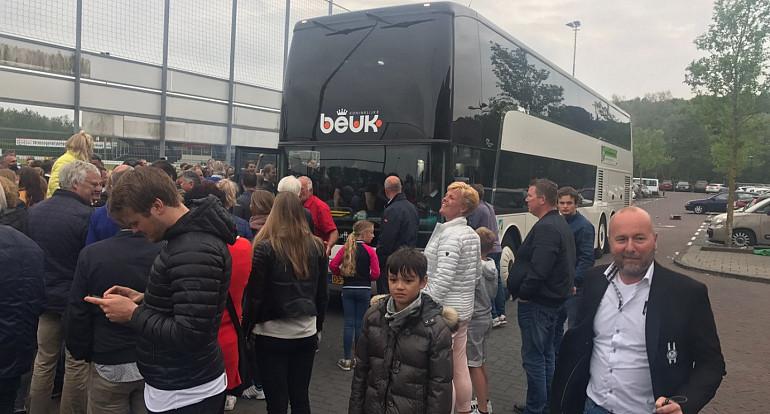 Koninklijke Beuk, Supportersvervoer, supportersbus, SJC Kampioen 2017 2018