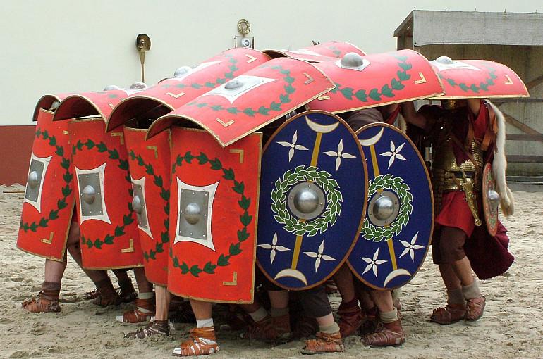 Koninklijke Beuk, Schoolreisje, Archeon, Romeinen