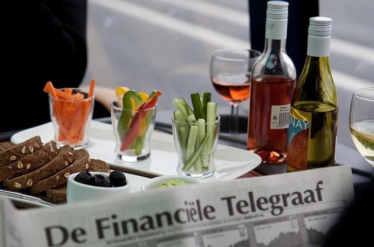Koninklijke Beuk, VIP vervoer - VIP la Diligence, on board catering