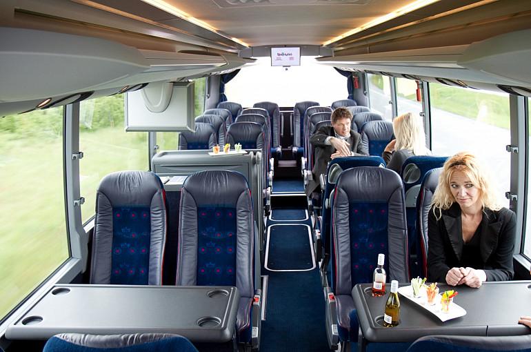Koninklijke Beuk, VIP vervoer - VIP la Diligence, interieur