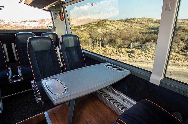 Congresvervoer, Koninklijke Beuk, bus met tafeltjes huren