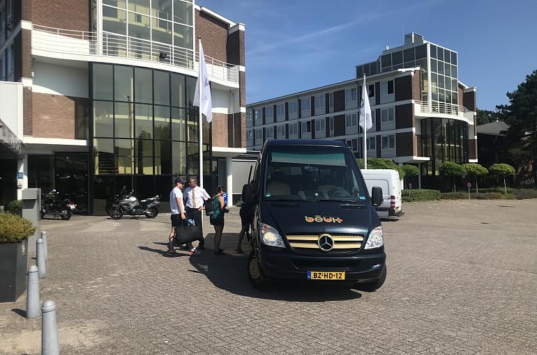 Hop on Hop off Noordwijk, Beuk, Leeuwenhorst, passagiers