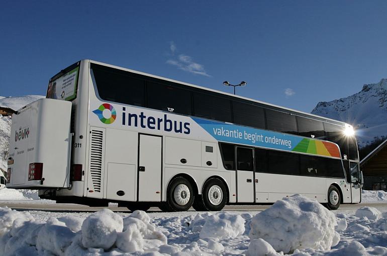 Pendelreizen, Beuk Touringcars, Interbus, Vakantie begint onderweg
