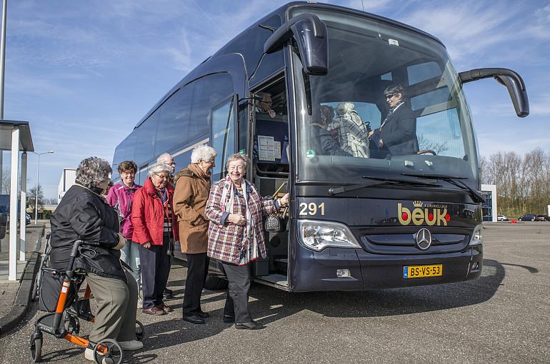 Seniorenreizen, senioren busreis, Koninklijke Beuk