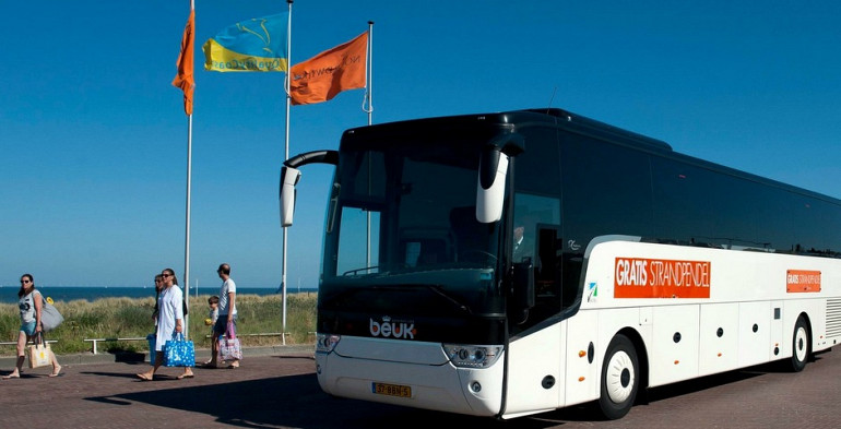Koninklijke Beuk rijdt Strandpendel Noordwijk