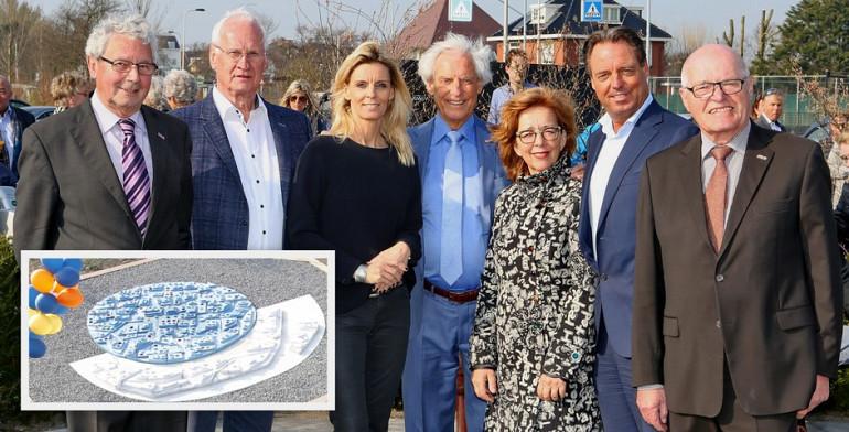 Onthulling kunstwerk Beuk tussen Zee en Binnen te Noordwijk