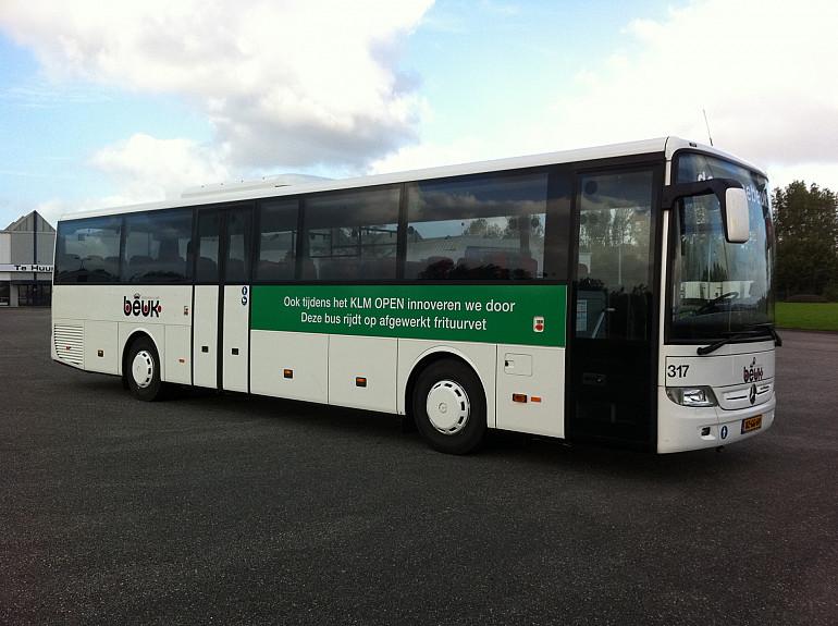Frituurvet als brandstof, KLM en Beuk, touringcar 317