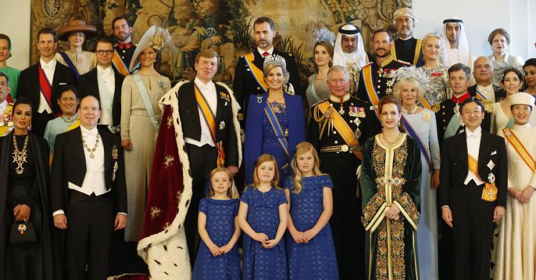 Koninklijke gasten rijden met Koninklijke Beuk