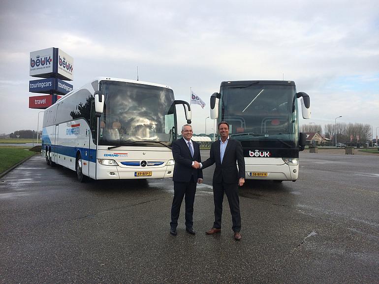 Koninklijke Beuk en Eemland Reizen bundelen krachten, Eric Beuk en Jan van Leeuwen