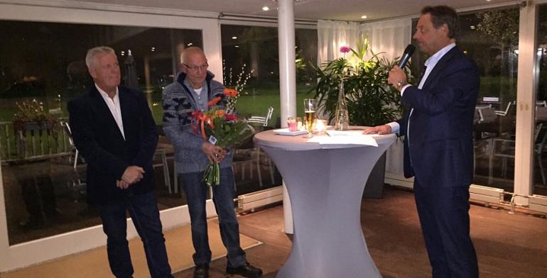 Herfstborrel met afscheid na 50 en 35 jaar dienstverband bij Beuk Noordwijk