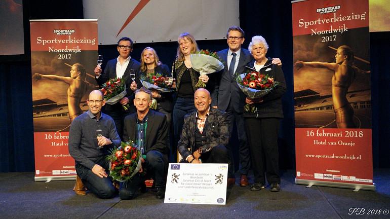Nico Verkade ontvangt Koninklijke Beuk Trophee 2017