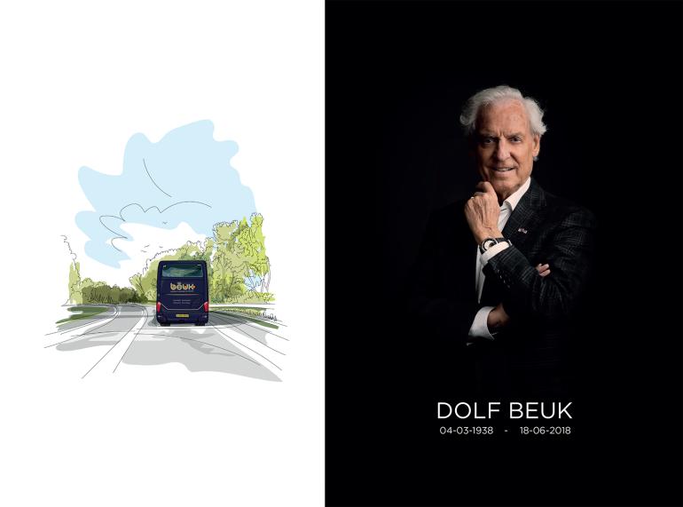 Dolf Beuk overleden 18-06-2018, Koninklijke Beuk