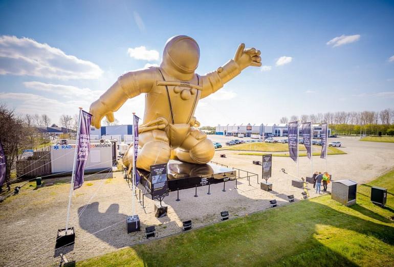 Astronaut, Andre Kuipers, Museumweek, Gouden pronkstuk, Beuk