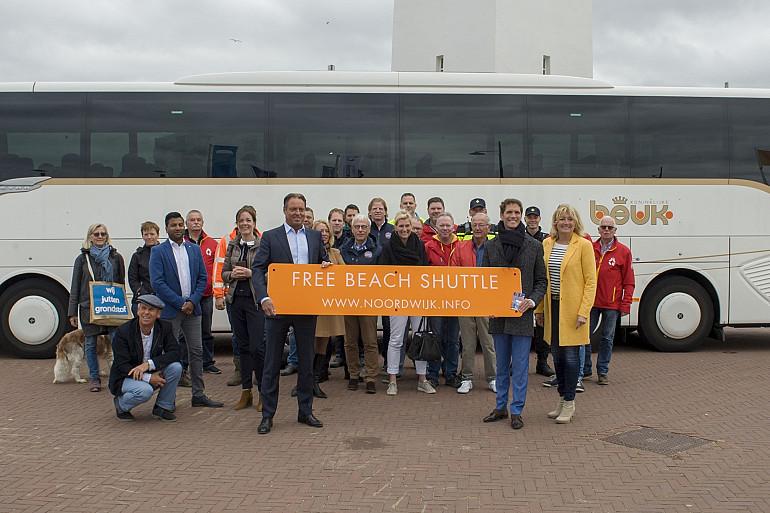 Koninklijke Beuk verzorgt Free Beach Shuttle Noordwijk, seizoen 2019