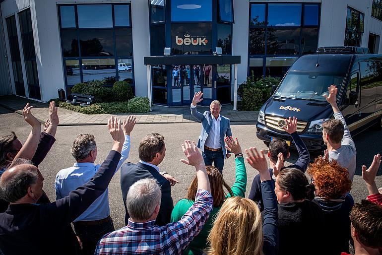 Ed van der Geer met pensioen