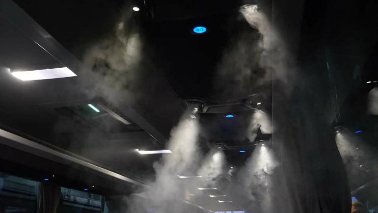 Luchtcirculatie aan boord van touringcar, Koninklijke Beuk